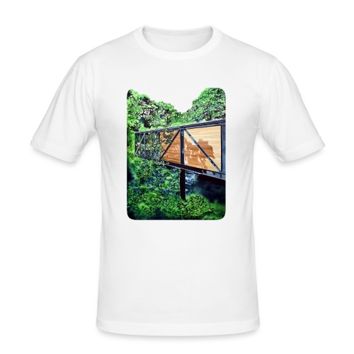 by Eamon O'Kane - Herre Slim Fit T-Shirt