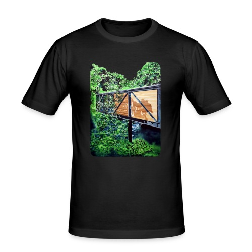 by Eamon O'Kane - Herre Slim Fit T-Shirt