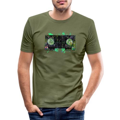 Electronic music t-shirts - Men's Slim Fit T-Shirt