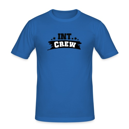 International Crew T-Shirt Design by Lattapon - Herre Slim Fit T-Shirt