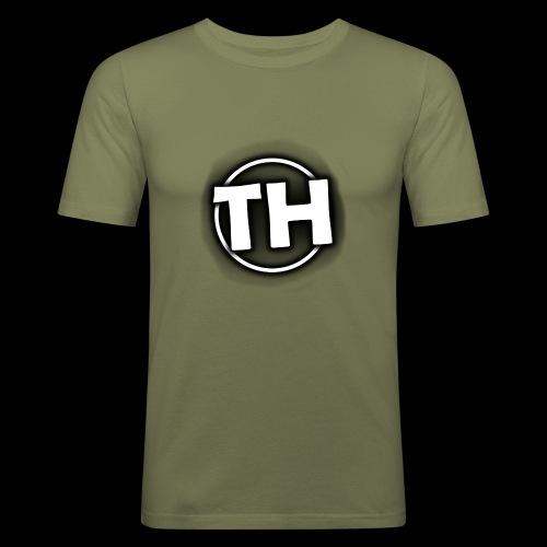 Men's TankTop - TooHard Logo 5 - Men's Slim Fit T-Shirt