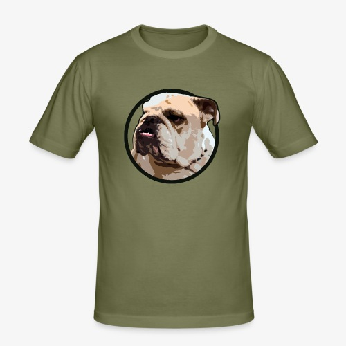 Bulldog - Men's Slim Fit T-Shirt