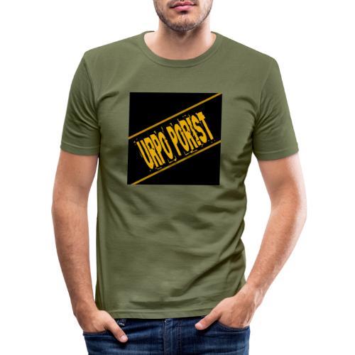 Urpo Porist - Miesten tyköistuva t-paita