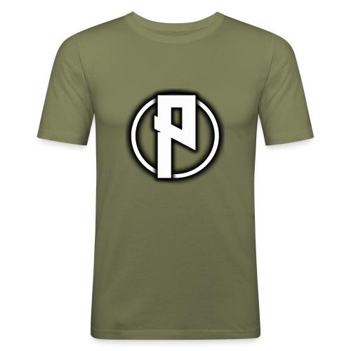 Priizy t-shirt black - Men's Slim Fit T-Shirt