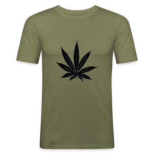 weed - T-shirt près du corps Homme