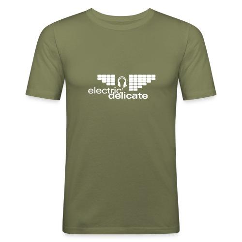 logodruck Electric Delicate - Männer Slim Fit T-Shirt