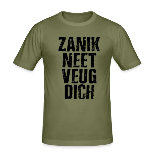 Zanik neet - Mannen slim fit T-shirt
