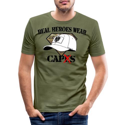 Real Heroes - Männer Slim Fit T-Shirt