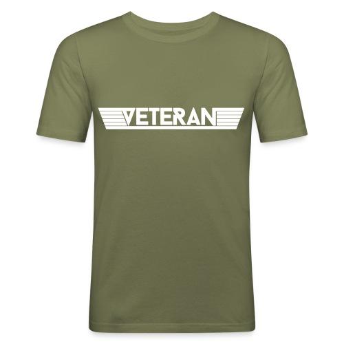 VetWingPlain - Herre Slim Fit T-Shirt