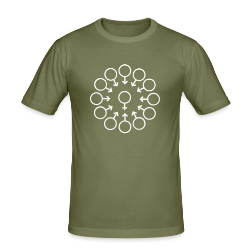 bukake - T-shirt près du corps Homme