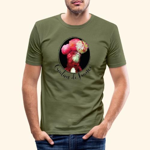 Création de France - T-shirt près du corps Homme