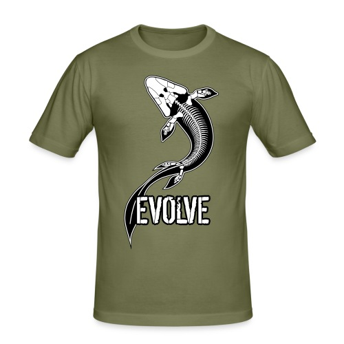 Tiktaalik Evolve 2 Layers - Men's Slim Fit T-Shirt
