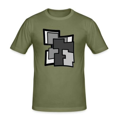 Abstraction - Camiseta ajustada hombre