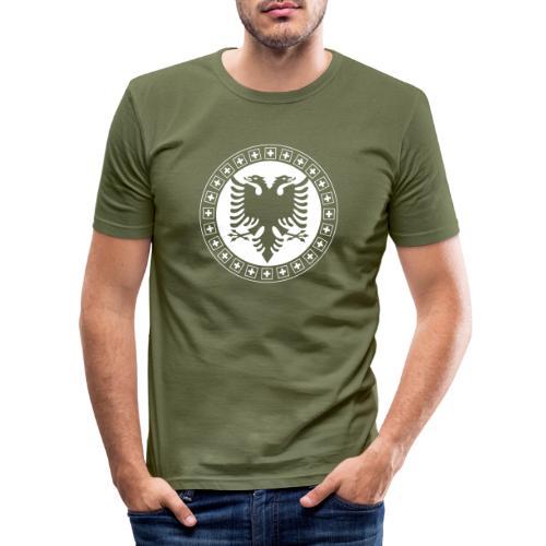 Albanien Schweiz Shirt - Männer Slim Fit T-Shirt