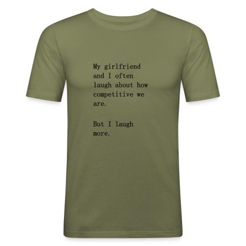 Couple Comedy - Men's Slim Fit T-Shirt