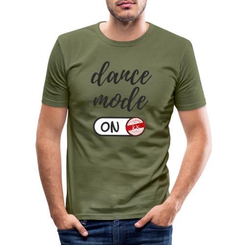 Shirt dance mode schw - Männer Slim Fit T-Shirt