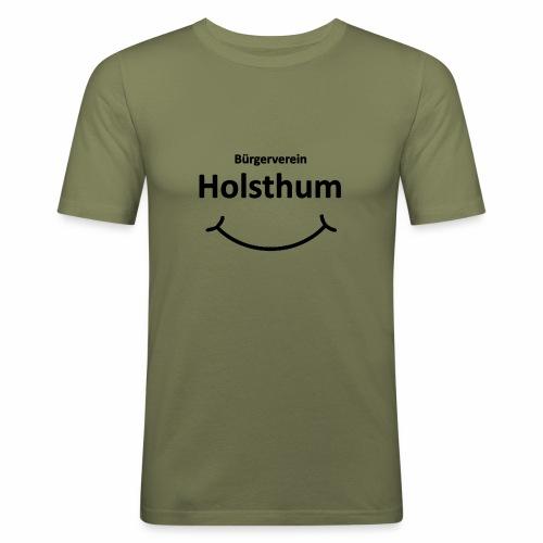 Bürgerverein Holsthum smilye - Männer Slim Fit T-Shirt