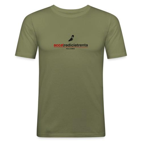H13 30 fondo chiaro - Maglietta aderente da uomo