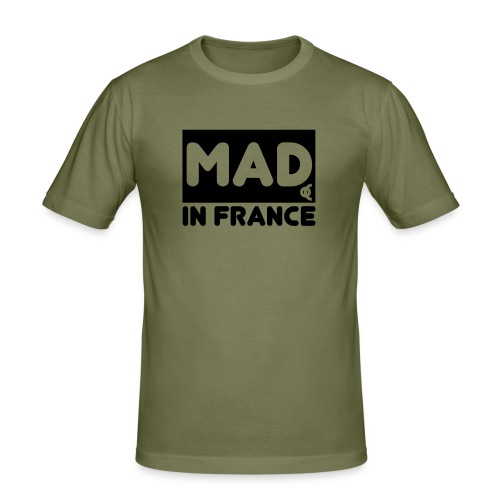 mad in france - T-shirt près du corps Homme
