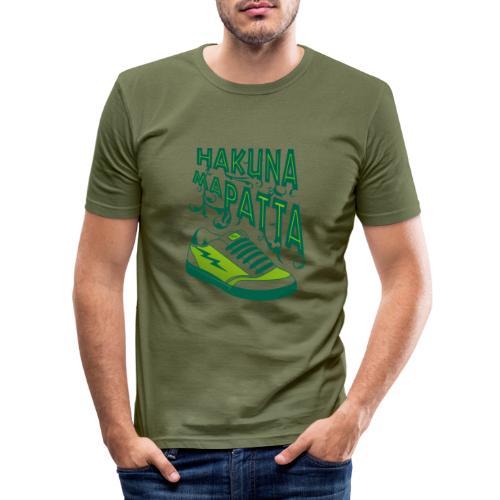 Hakuna maPatta - Mannen slim fit T-shirt