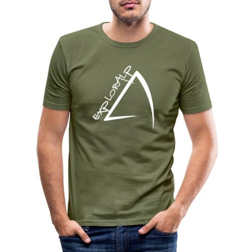 logo - Men's Slim Fit T-Shirt