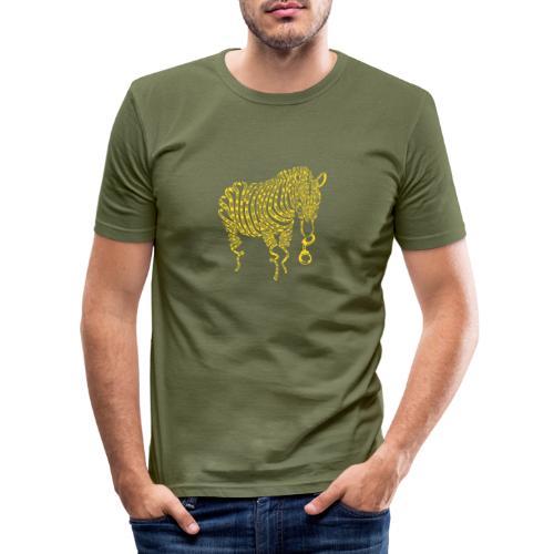 Nature of Crime - Männer Slim Fit T-Shirt