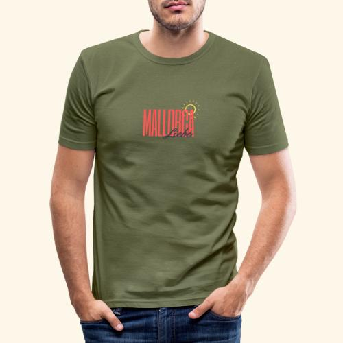 Mallorca Liebe - Männer Slim Fit T-Shirt