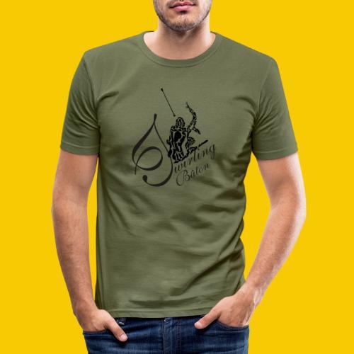 twirling b 2 - T-shirt près du corps Homme