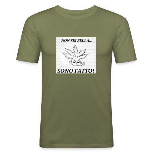 Fatt-One - Maglietta aderente da uomo