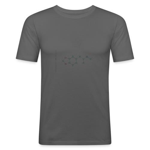 Molecuul MDMA - 'Where is Molly?' - Mannen slim fit T-shirt