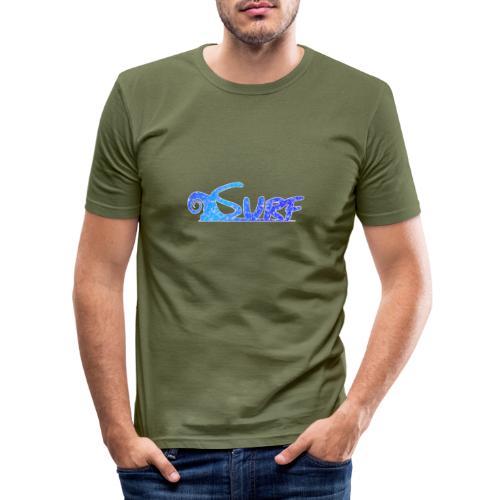 Waves for Surf - Maglietta aderente da uomo