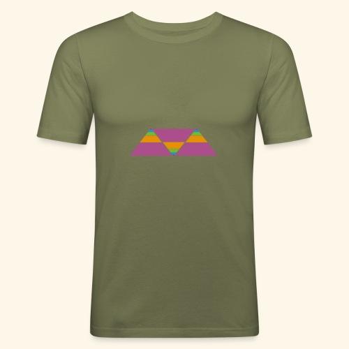 triangulos - Camiseta ajustada hombre