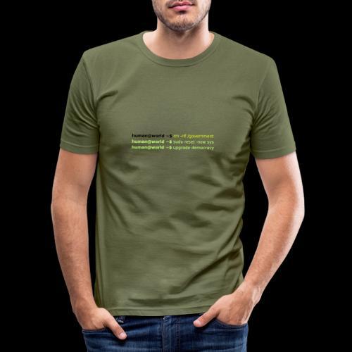 sudo reset - Männer Slim Fit T-Shirt