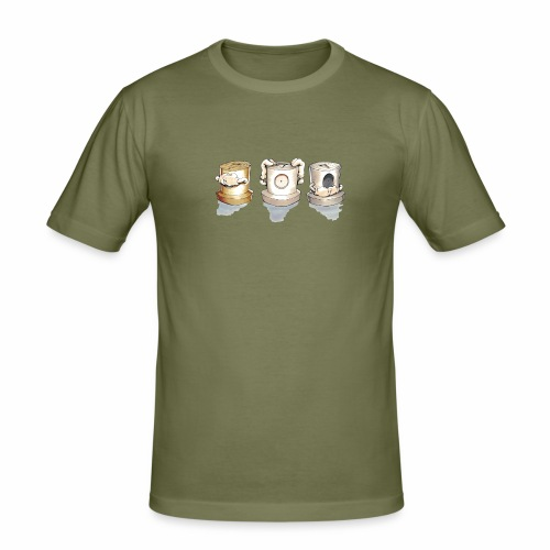 Dont Rasmus Balstrøm colors - Herre Slim Fit T-Shirt
