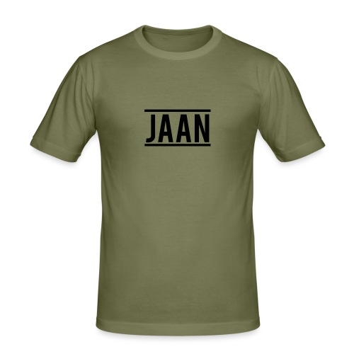 Jaan. - Männer Slim Fit T-Shirt
