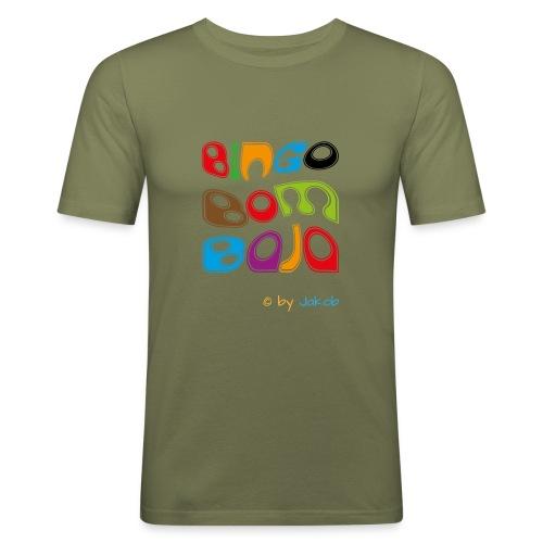 Bingobombaja - Männer Slim Fit T-Shirt