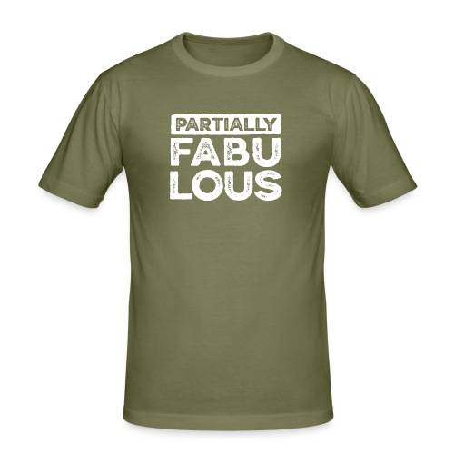 Partially fabulous - Slim Fit T-shirt herr