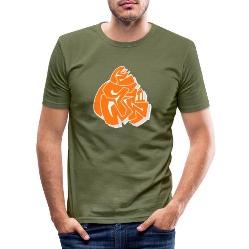 MRLAMP REDII - Maglietta aderente da uomo