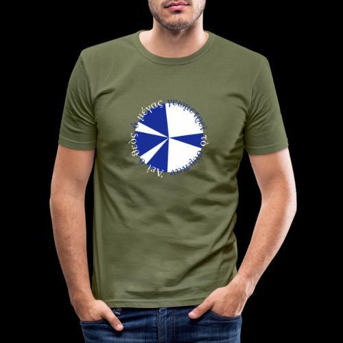 geometrie - Männer Slim Fit T-Shirt