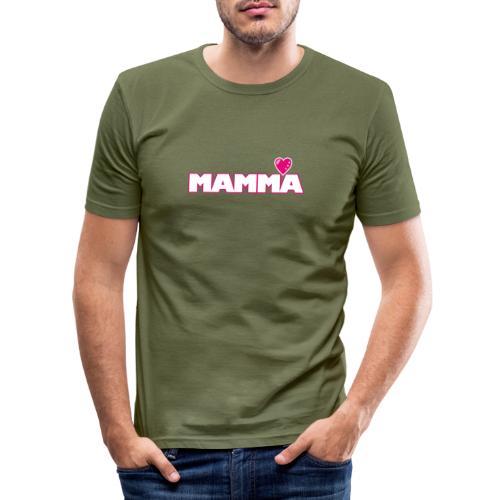 MAMMA - Slim Fit T-shirt herr