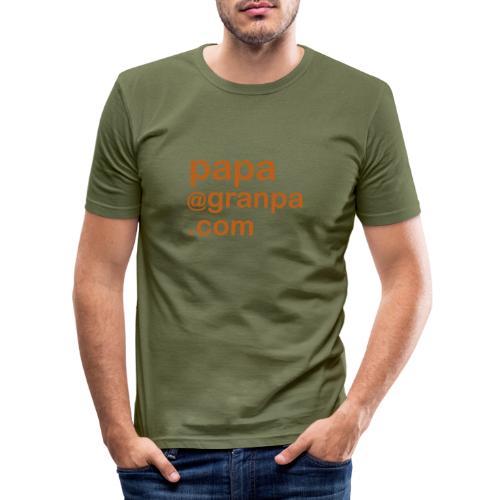 papa 1 - Men's Slim Fit T-Shirt