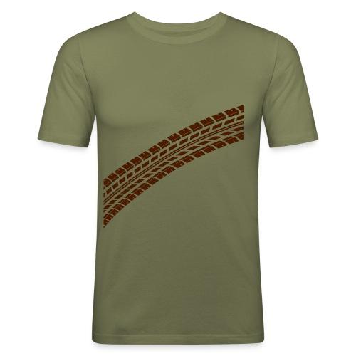 Reifenspur - Männer Slim Fit T-Shirt