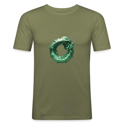 Quetzalcóatl - Camiseta ajustada hombre