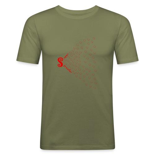 Super Spreader Love 20.1 - Männer Slim Fit T-Shirt