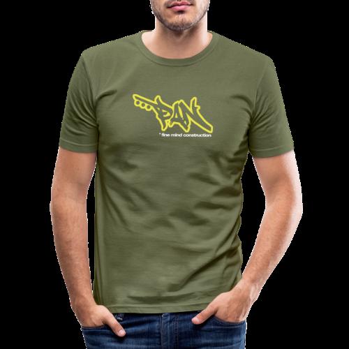 PETAAPAN - Männer Slim Fit T-Shirt