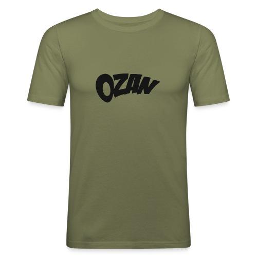 ozanschwarz - Männer Slim Fit T-Shirt