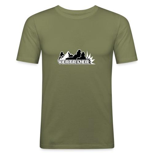 Vertrider - Männer Slim Fit T-Shirt