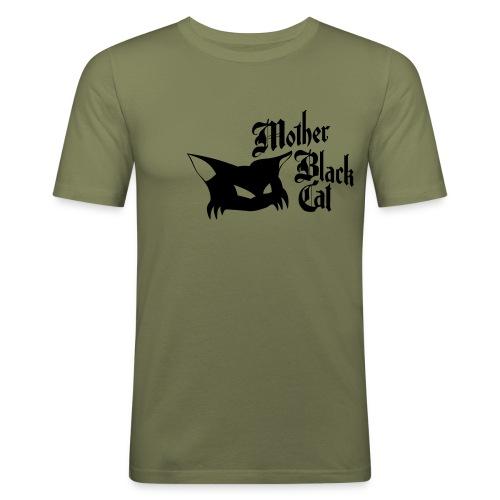 MBC Logo bigCat - Männer Slim Fit T-Shirt