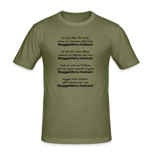 Du bist alles für mich - Männer Slim Fit T-Shirt