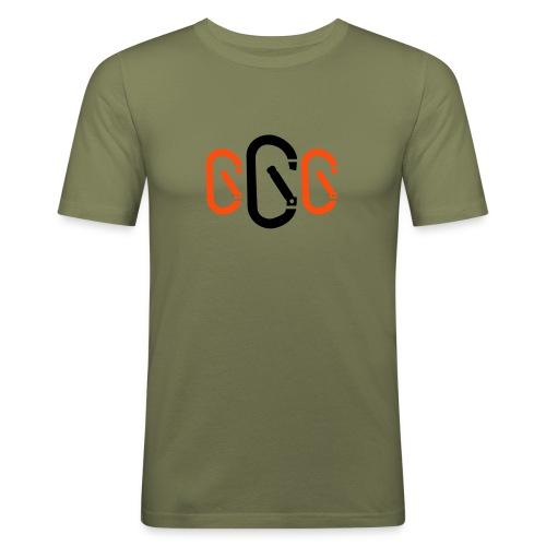 Karabiner 3 - Männer Slim Fit T-Shirt